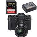 Fujifilm X-T20 w/ XF 18-55mm Lens (Black) - Bundle