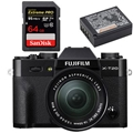 Fujifilm X-T20 w/ XC 16-50mm Lens (Black) - Bundle