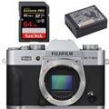 Fujifilm X-T20 (Body, Silver) - Bundle