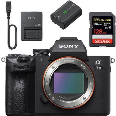 Sony Alpha a7 III Mirrorless Digital Camera (Body) ** Bundle **