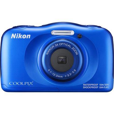 Nikon COOLPIX W100 Digital Camera - Blue (Refurbished)