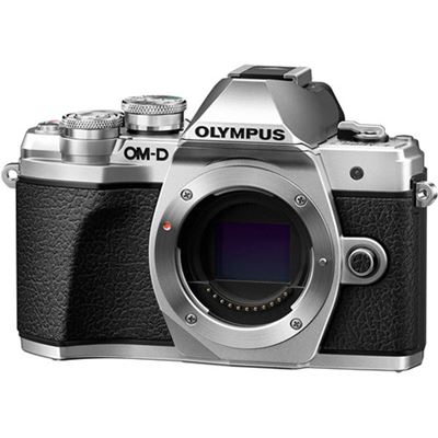 Olympus OM-D E-M10 Mark III Digital Camera (Body, SIlver)