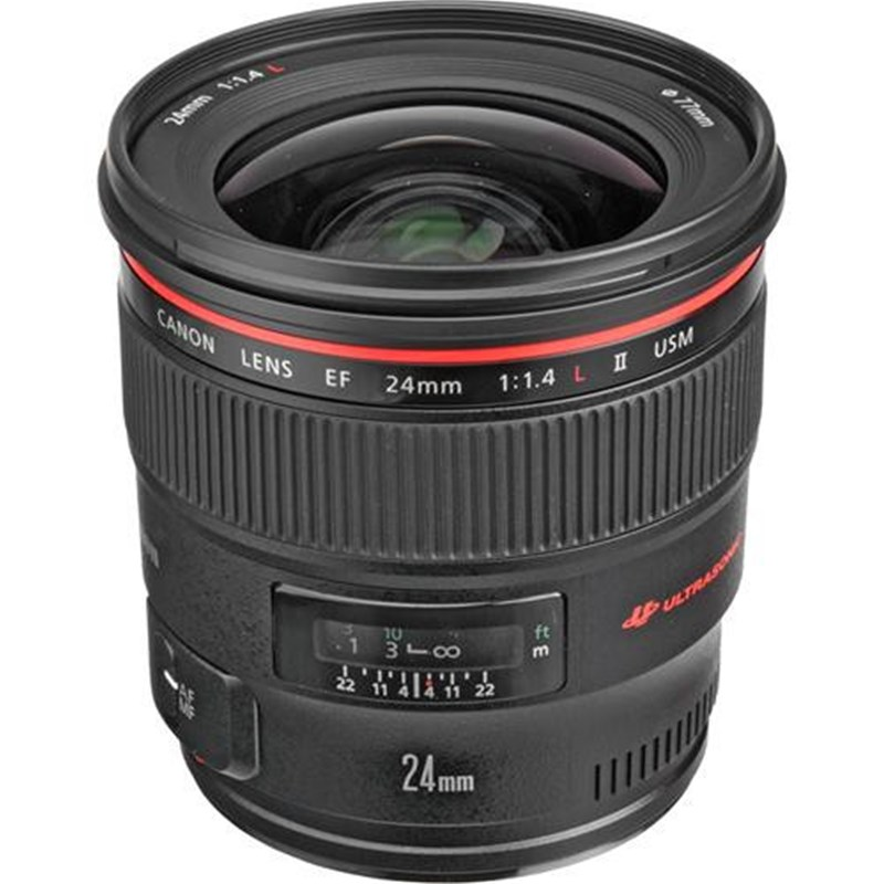 Canon EF 24mm F1.4L II USM (Limited Stock)