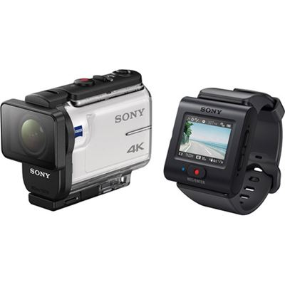 Sony FDR-X3000R/W Action Camera Kit