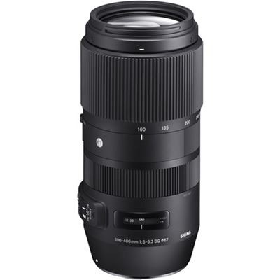Sigma 100-400mm F5-6.3 DG OS HSM Contemporary Lens<br>(Nikon F mount)