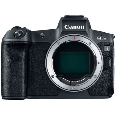 Canon EOS R Mirrorless Digital Camera (Body Only) Free Mount Adapter EF-EOS R