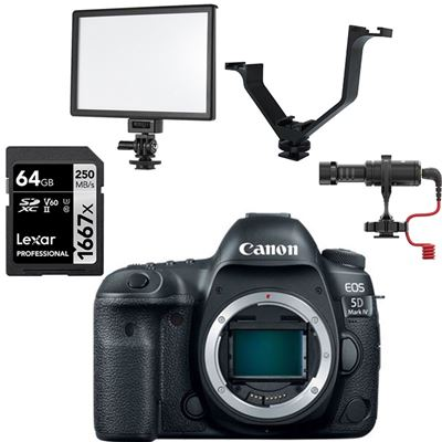 Canon EOS 5D Mark IV DSLR Camera (Body Only) ** Bundle! **
