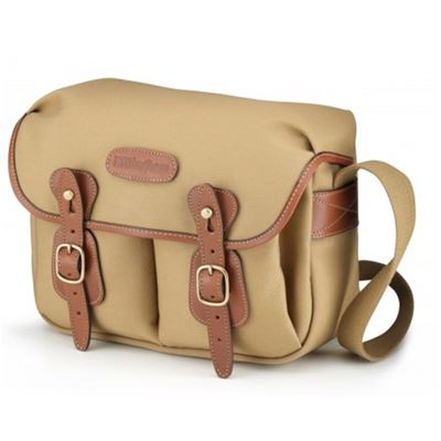 Billingham Hadley Small<br> (Khaki canvas, tan leather, brass fittings)