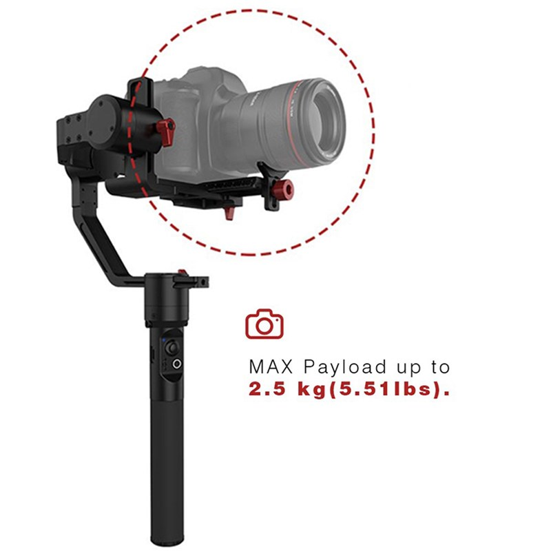 Hohem iSteady Gear 3-Axis Handheld Gimbal Stabilizer<br> For DSLR & Mirrorless