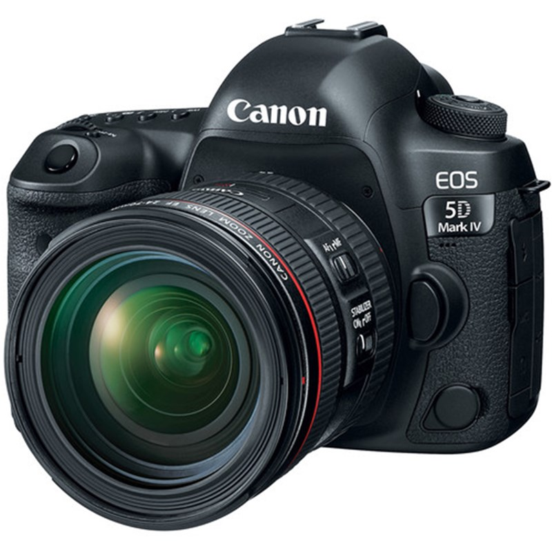 Canon EOS 5D Mark IV DSLR Camera w/ 24-105mm F4L II IS USM Lens (Limited Stock)