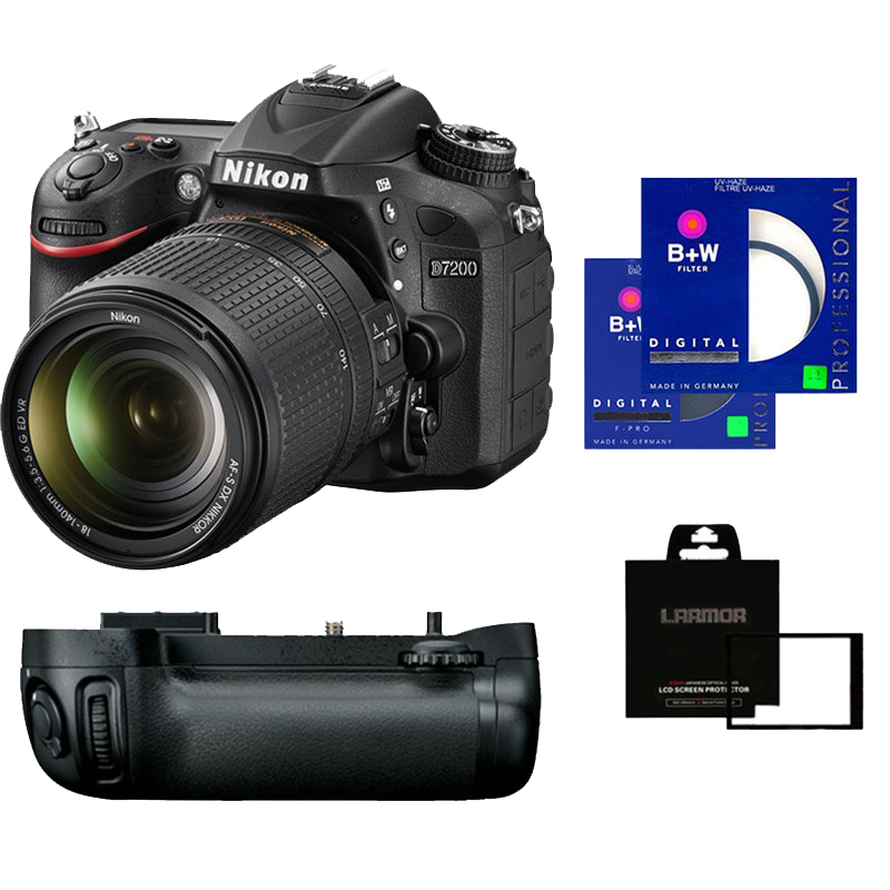 Nikon D7200 w/ AFS DX 18-140mm F3.5-5.6G ED VR - Bundle