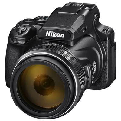 Nikon COOLPIX P1000 Digital Camera <br> 24-3000mm F2.8-8 Lens (35mm Equivalent) + Bonus ML-L7 remote control + Memory Card + Cir Polariing Filter