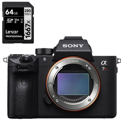 Sony Alpha a7R III Mirrorless Digital Camera (Body Only)