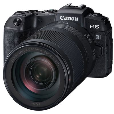 Canon EOS RP Mirrorless Camera w/ RF 24-240mm F4-6.3 IS USM Lens + RF/ R Lens Mount Adapter