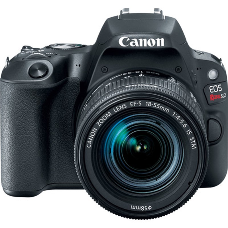 Canon EOS Rebel SL2 DSLR Camera w/ 18-55mm Lens (Black)