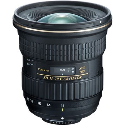 Tokina AT-X 11-20mm F2.8 PRO DX Lens (for Nikon F)