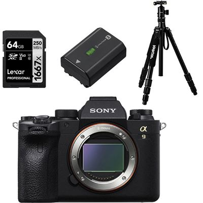 Sony Alpha a9 II Mirrorless Camera (Body) w/ BONUS ITEMS!!