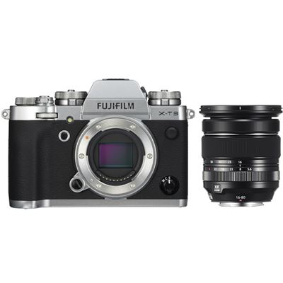 Fujifilm X-T3 Mirrorless Digital Camera (Silver body kit)<br> w/ Fujinon 16-80mm F4 OIS Lens - With BONUS + BATTERY GRIP (MAIL-IN OFFER)