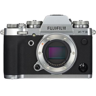 Fujifilm X-T3 Mirrorless Digital Camera (Body Only, Silver) with Bonus Items
