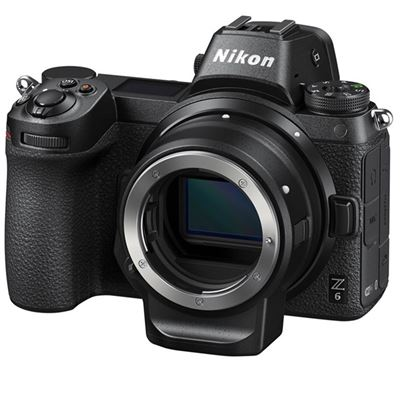 Nikon Z6 Mirrorless Digital Camera<br> w/ FTZ Mount Adapter Kit