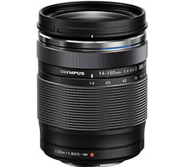 Olympus M.Zuiko ED 14-150mm f/4-5.6 II Lens (Micro Four Thirds Mount)