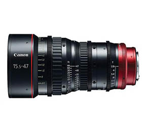 Canon CN-E 15.5-47mm T2.8 L S Wide-Angle Cinema Lens (EF Mount)