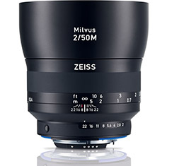 Zeiss Milvus 50mm F2M ZF.2 Lens (for Nikon F)