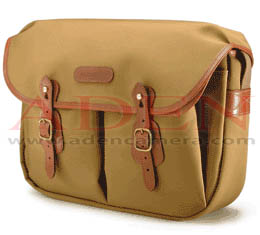 Billingham Hadley Large<br> (Khaki canvas, Tan leather, Brass fittings)