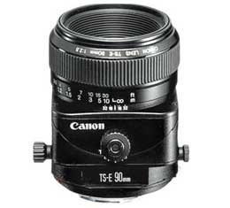 Canon TS-E 90mm F2.8 Tilt-Shift Lens