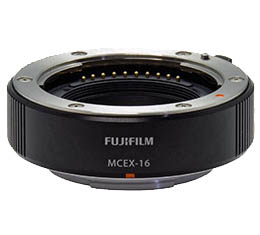 Fujifilm Macro Extension Tube MCEX-16