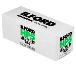 Ilford HP5 Plus 400 Black & White Print Film - 120 Roll
