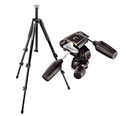 Manfrotto 055XB Tripod w/ Manfrotto 804RC2 Tripod Head