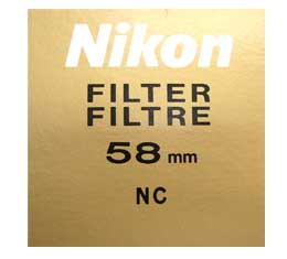 Nikon 58mm Neutral Color Filter