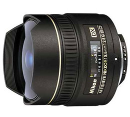 Nikkor AF DX 10.5mm f2.8 G IF ED Fisheye