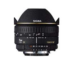 Sigma 15mm F2.8 EX DIAGONAL Fisheye (Canon)