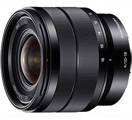 Sony 10-18mm F4 OSS E-mount Wide Lens (SEL1018) + Bonus