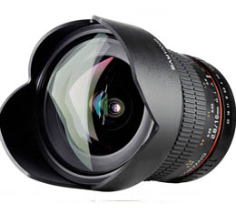 Rokinon 10mm F2.8 Wide lens with Automatic chip (For Nikon AE - RO10MAFN)