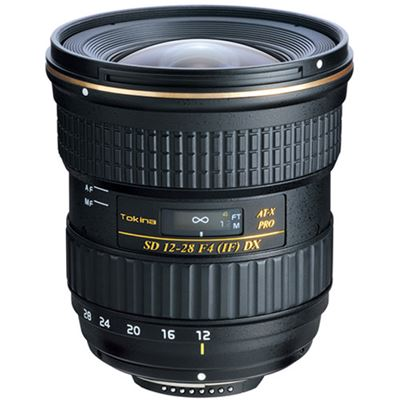 Tokina 12-28mm F4.0 AT-X Pro Lens (Canon)