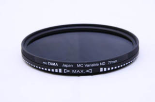 ProTama 77mm Variable ND Filter ND2-ND400