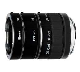 Kenko DG Teleplus Extension Tube Set  For Sony AF Lenses