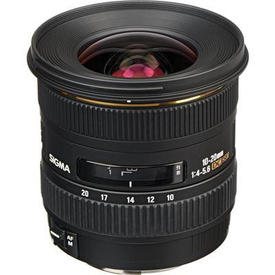 Image of Sigma 10-20mm F4-5.6 EX DC HSM (Canon)