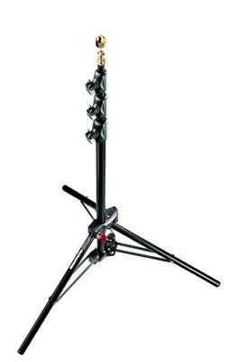 Image of Manfrotto #1051BAC - Black Alu. Air Cushioned MiniCompact Stand