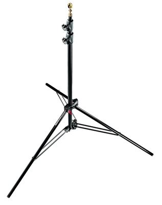 Image of Manfrotto #1052BAC - Air Cushioned Compact Black Light Stand
