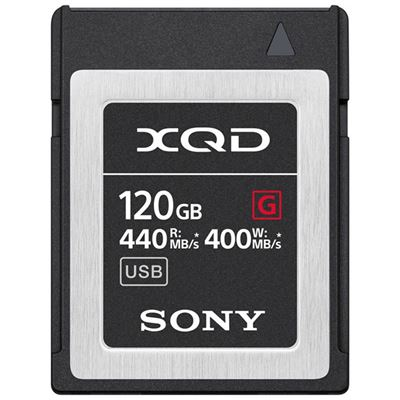 Image of Sony 120GB G Series XQD Memory Card
