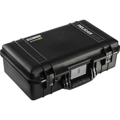 Image of Pelican 1525AirTP Carry-On Case (Black, TrekPak Divider System)