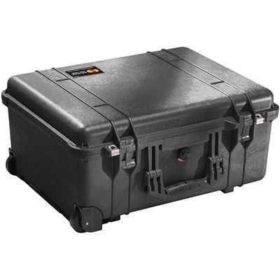 Image of Pelican 1560TP Case with TrekPak Divider System (Black)