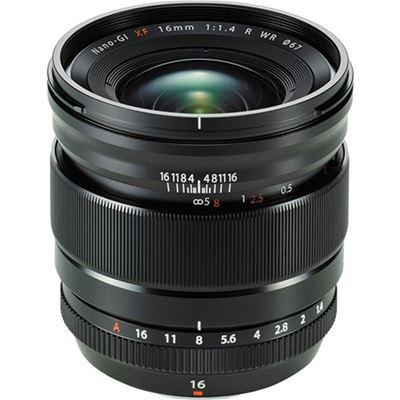 Image of Fujifilm Fujinon XF 16mm F1.4 R WR Lens + Bonus