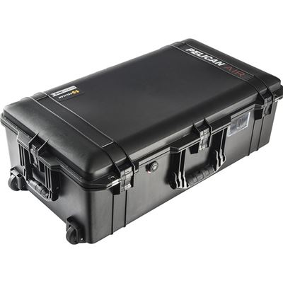 Image of Pelican 1615AirTP Wheeled Check-In Case (Black, with TrekPak Insert System)
