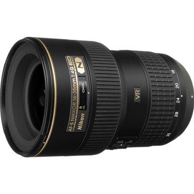 Image of Nikkor AF-S 16-35mm F4 G VR Lens + Bonus