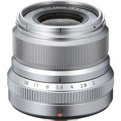 Compare Prices Of  Fujifilm Fujinon XF 23mm F2 R WR Lens (Silver) + Bonus